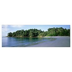 Costa Rica, Manuel Antonio National Park, beach Poster