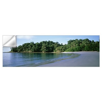 Costa Rica, Manuel Antonio National Park, beach Wall Decal