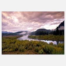 Wyoming, Yellowstone Park, Snake River