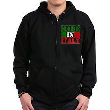 Made in Italy Zip Hoodie