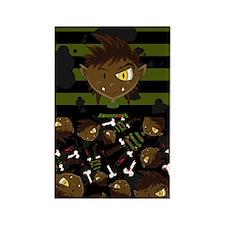 Halloween Werewolf Magnet