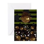 Halloween Werewolf Greeting Cards (Pk of 20)
