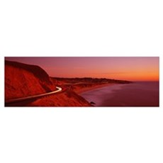California, Pacific Coast Highway Poster
