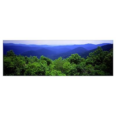 Smoky Mountain National Park TN Poster