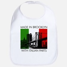 Made in Brooklyn with Italian Parts Bib