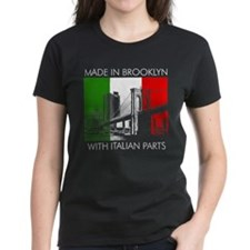 Made in Brooklyn with Italian Parts Tee