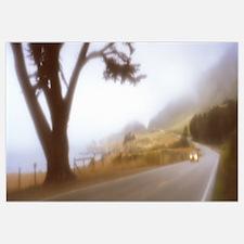 California, Big Sur, road