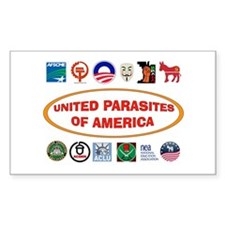 ENEMIES AMONG US Bumper Stickers