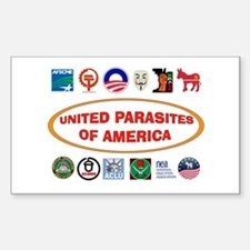 ENEMIES AMONG US Sticker (Rectangle)