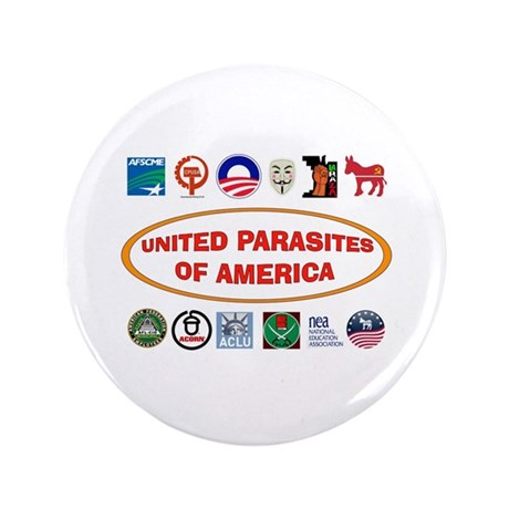 "ENEMIES AMONG US 3.5"" Button (100 pack)"