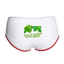 This Is No Time To Be Sober Women's Boy Brief