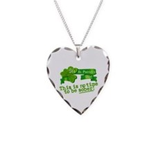 This Is No Time To Be Sober Necklace Heart Charm
