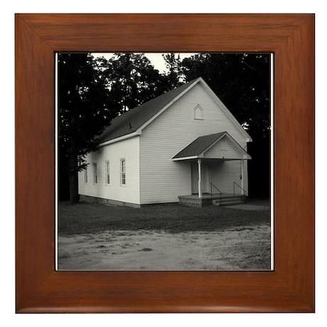 MP Flat Rock Church Framed Tile