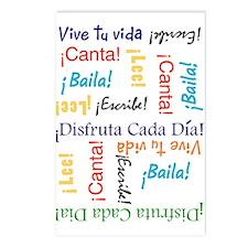 Vive tu vida!Postcards (Package of 8)