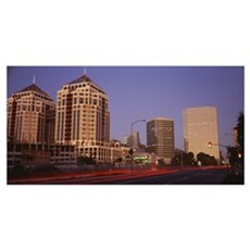 California, Oakland, Alameda County, New City Cent Canvas Art