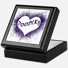 Cool Miniature poodles Keepsake Box
