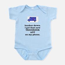 Cute Tricorder Infant Bodysuit