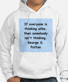 george s patton quotes Hoodie