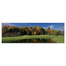 Farm Resort Golf Course VT Poster