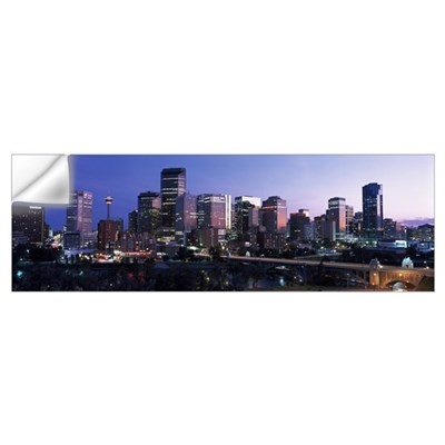 Calgary Alberta Canada Wall Decal