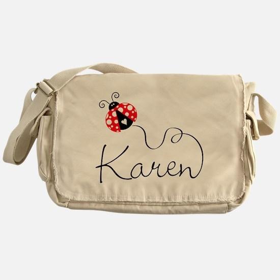 Ladybug Karen Messenger Bag