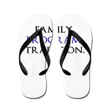 Unique Family heritage Flip Flops