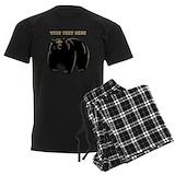 Bear Men's Dark Pajamas