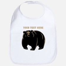 Big Bear with Custom Text. Bib