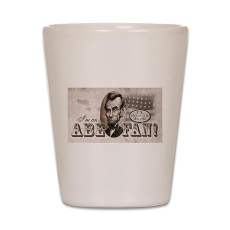 Abe Fan Shot Glass