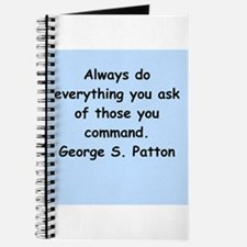 george s patton quotes Journal