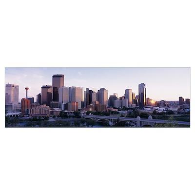 Calgary Alberta Canada Poster