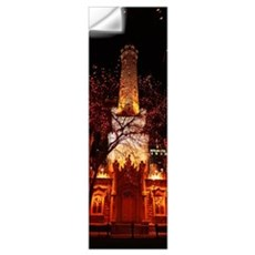 Night Old Water Tower Chicago IL Wall Decal