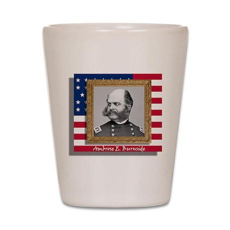 Ambrose E. Burnside Shot Glass