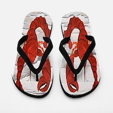 Red Lobster Flip Flops