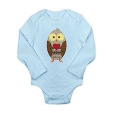 I'll love you Owl-ways Long Sleeve Infant Bodysuit