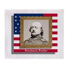 Benjamin Butler Throw Blanket