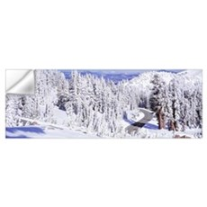 Highway 89 Lassen Volcanic National Park CA Wall Decal