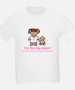 """You'll get the good stuff..."" (pink) Kids T-Shirt"