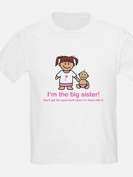"""You'll get the good stuff..."" (pink) Kids T-Shirt"