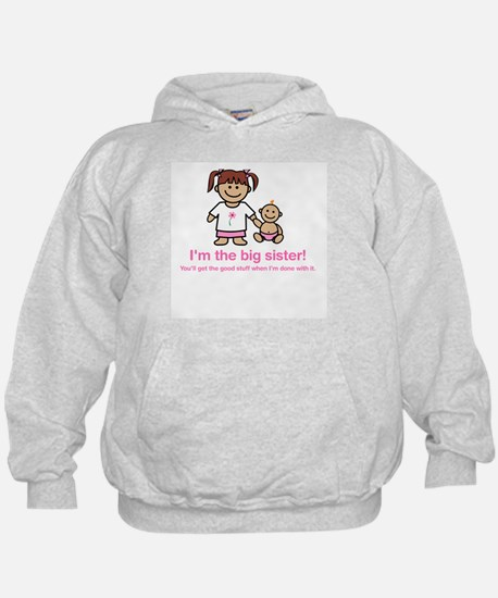"""You'll get the good stuff..."" (pink) Hoody"