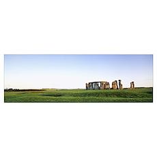 Stonehenge Wiltshire England Poster