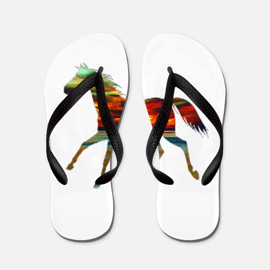 FEEL THE SPIRIT Flip Flops