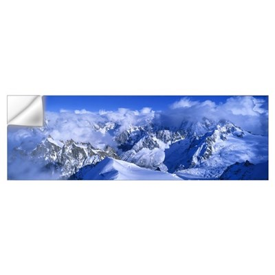Aiguille du Plan Alps France Wall Decal