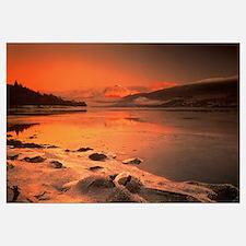 Lake Eil and Ben Nevis Highlands Scotland