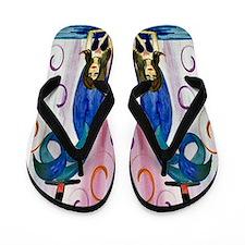 Tipsy Mermaid Flip Flops