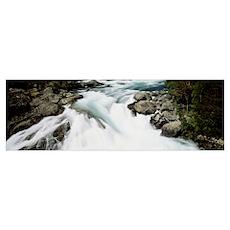 Namsen River Norway Poster