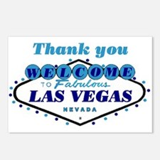 Thank you Las Vegas Postcards (Package of 8)