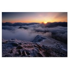 Brecon Beacons Wales Poster