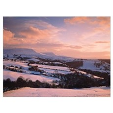 Brecon Beacons Wales Canvas Art