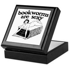 Bookworms Are Sexy Keepsake Box